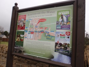 Bourton on the Water is very different to the Chilterns